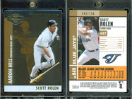 2008 Topps Co-Signers - Silver Gold #49b SN150