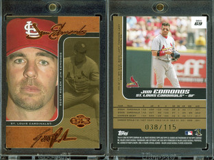 2006 Topps Co-Signers - Changing Faces Gold #69c SN115