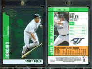 2008 Topps Co-Signers - Silver Green #49a SN200