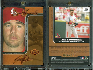 2006 Topps Co-Signers - Changing Faces Bronze #69c SN150