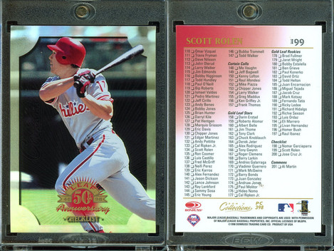 1998 Donruss Collections Leaf - Prized Collections #PC398 CL