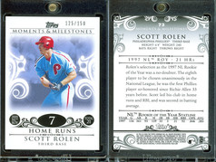 2008 Topps Moments & Milestones #73-7 SN150