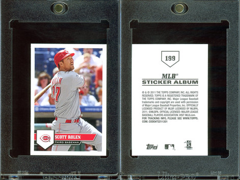 2011 Topps Stickers #199