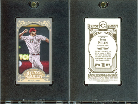 2012 Topps Gypsy Queen - Mini #129