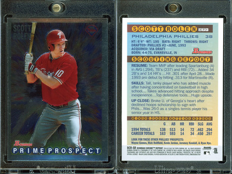 2002 Bowman Chrome - Reprints #BCR-SR