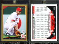 2009 Topps Updates & Highlights - Gold Border #UH76 SN2009