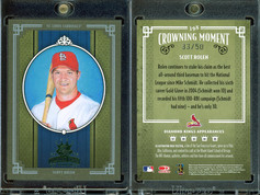 2005 Donruss Diamond Kings - Framed Green #398 SN50