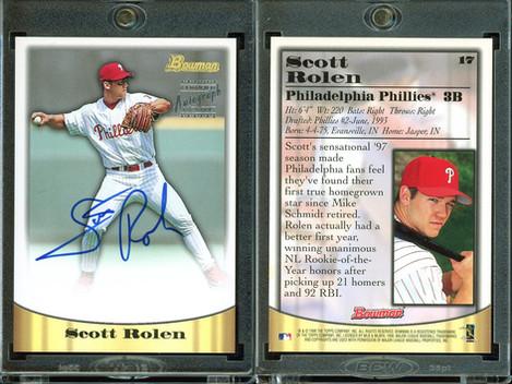 1998 Bowman - Certified Silver Autographs #17