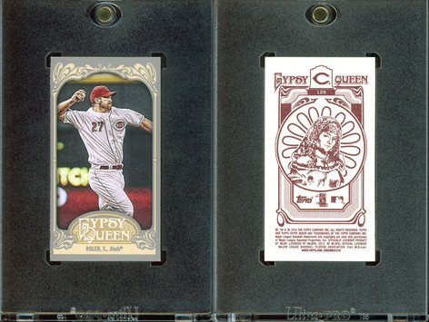 2012 Topps Gypsy Queen - Mini Gypsy Queen Back #129