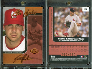 2006 Topps Co-Signers - Changing Faces Red #78b SN150