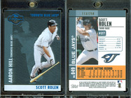 2008 Topps Co-Signers - Silver Blue #49b SN250