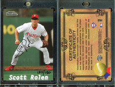 2001 Fleer Platinum - Rack Pack Autographs #19 AU, SN150
