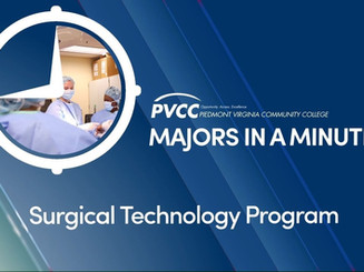 PVCC Surgical Technology Program