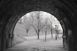Walk thru a tunnel