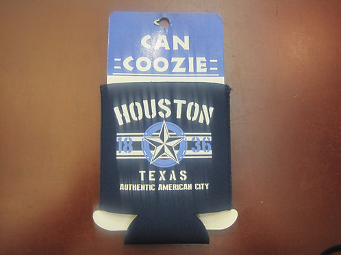 Traditional Houston Texas Can Coozie