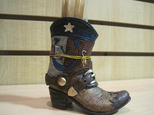 TX Boot Toothpick Holder