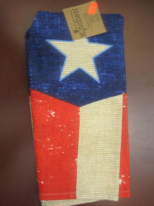 Rustic Look - Texas Kitchen Towel