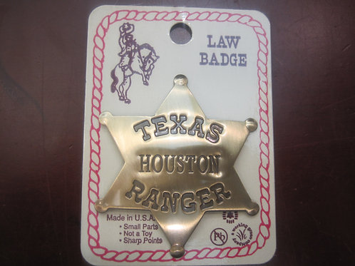 Texas Houston Ranger Sheriff Badge