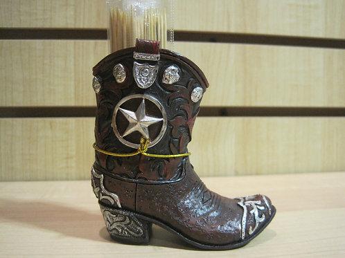 Texas Star Boot - Toothpick Holders