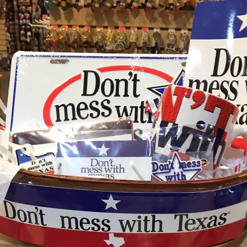 Dont Mess with Texas gift basket