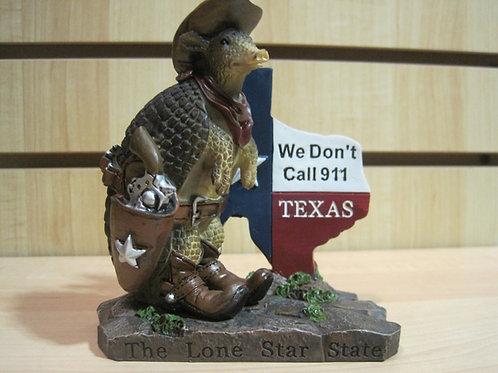 Armadillo Cowboy We Don't Dial 911