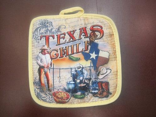Texas Chili Pot Holder
