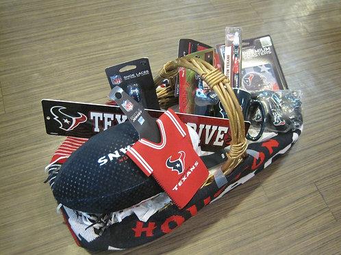 Go Texans gift basket