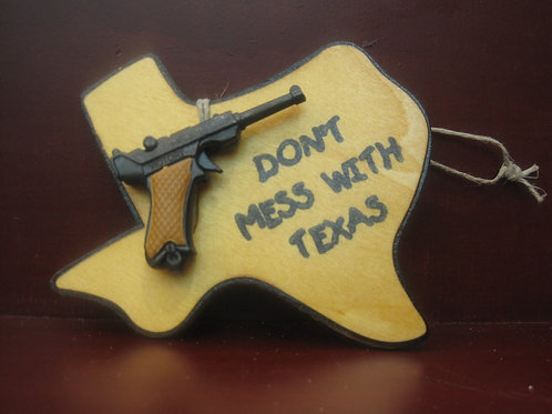 Don't Mess With Texas Ornament