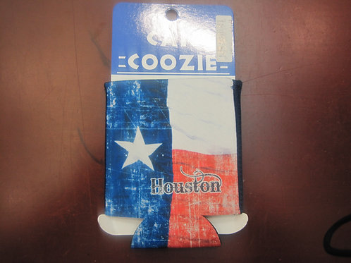 Texas Flag Can Coozie