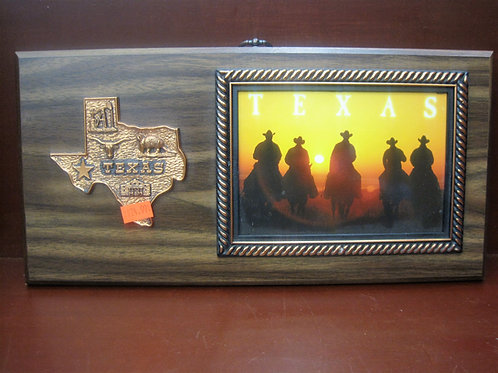 Texas Wooden Photo Frame