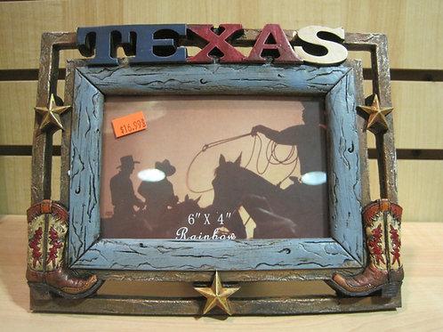 Texas designer photo frame