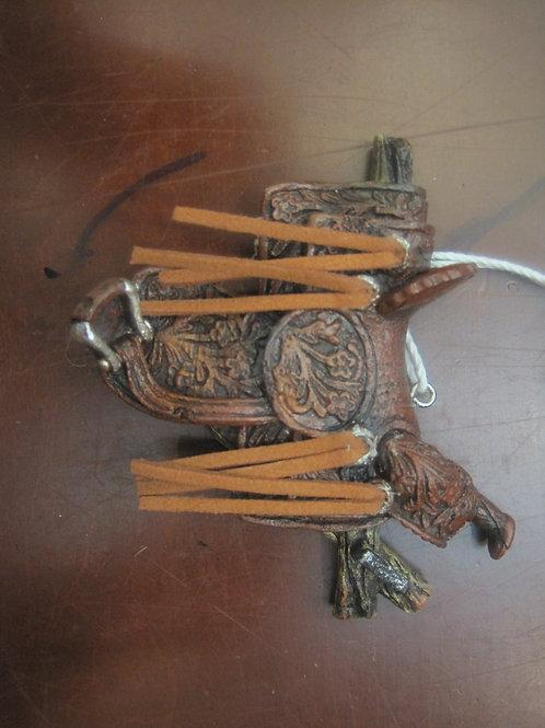 Unique Ornaments - Horse Saddle