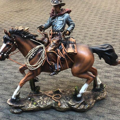 Cowboy on a Horse - Big