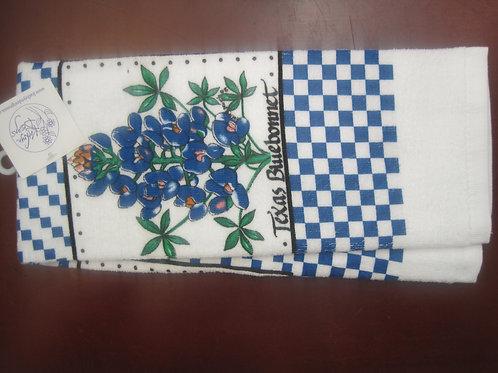 Texas Blue Bonnet Kitchen Towel