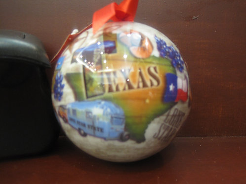 Ball Texas map Ornament