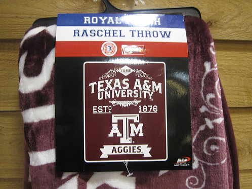 Royal Plush Blanket Texas ATM
