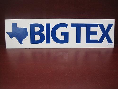 BIG TEX sticker
