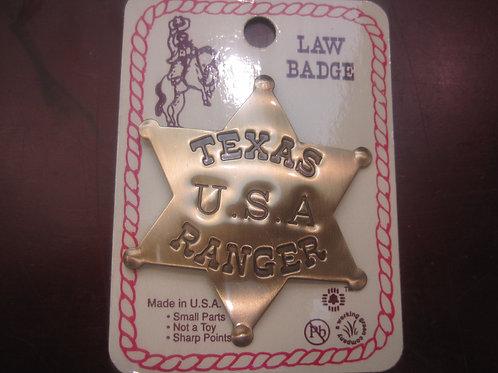 Texas U.S.A Ranger Sheriff Badge