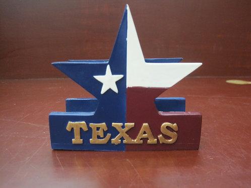 Texas star business card holder