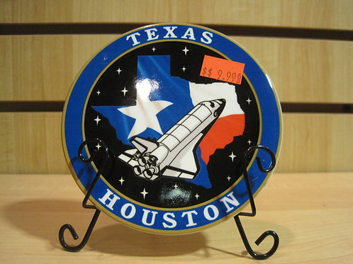 Texas Houston NASA Plate