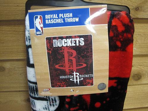 Rockets Plush Blanket