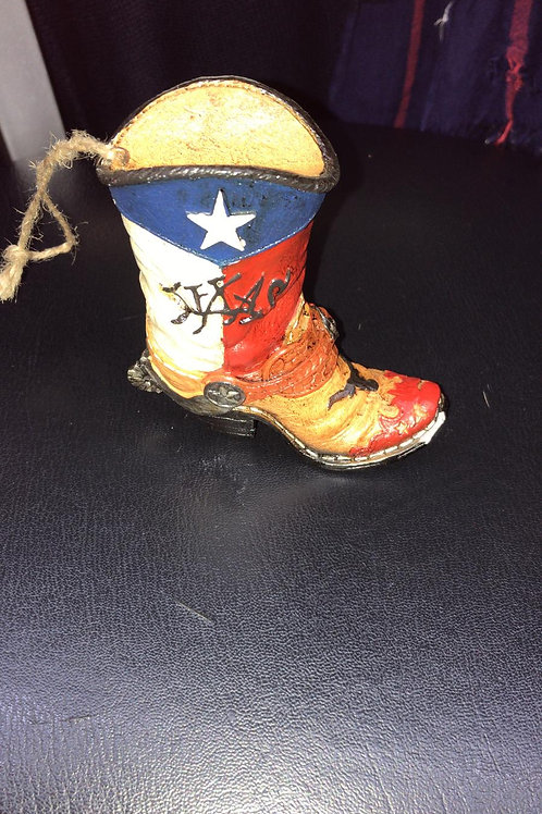 Boot ornament withTexas