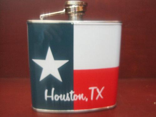 Texas sized flask 4 oz