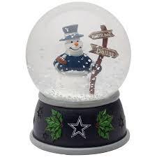 Dallas Cowboys Team Water Globe
