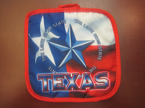Texas Lone Star State Pot Holder