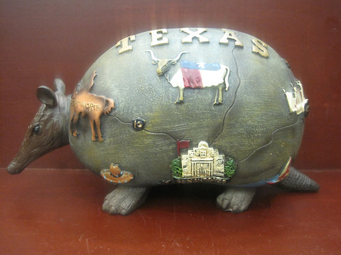 Texas Armadillo Money Bank