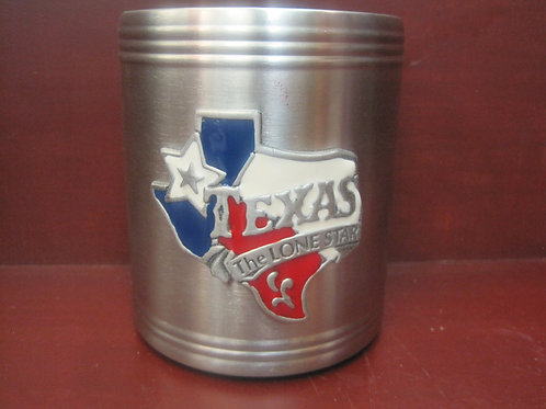 Texas Map Insulated Can Holder