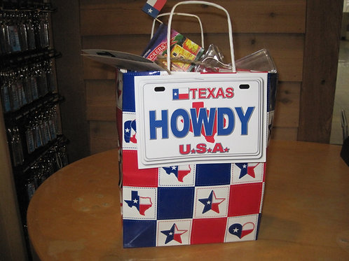 Howdy gift bag