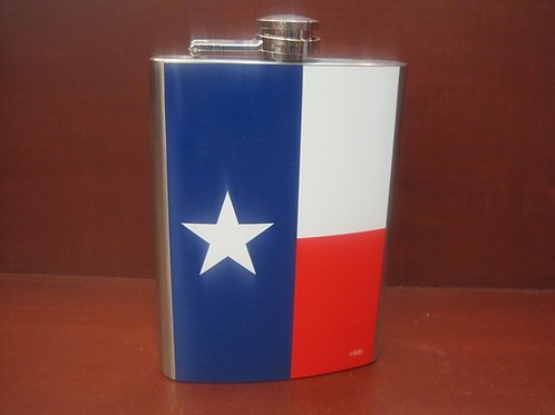 6 oz Stainless Steel Texas Flask