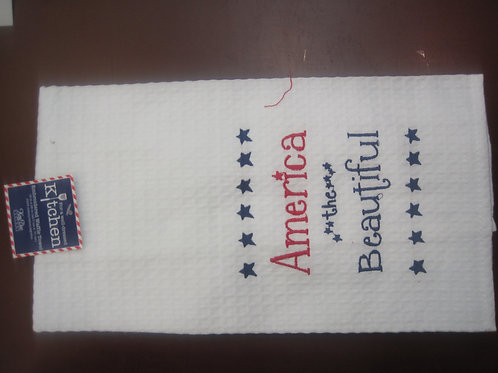 America Beautiful Kitchen Napkin